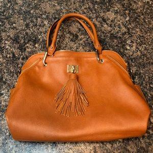 Tan Big Buddha handbag
